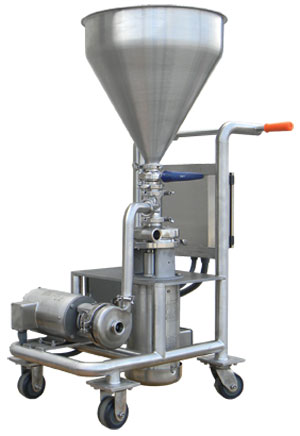 Ampco dry blending and powder mixing equipment