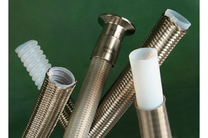 Overbraided PTFE hose