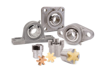 Bearings/shaft couplings