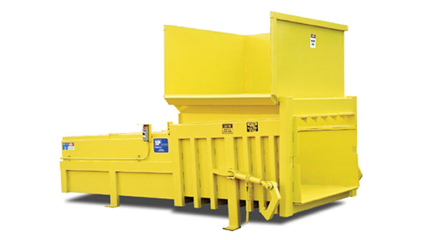 Stationary trash compactor