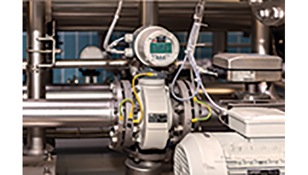 ABB's electromagnetic ProcessMaster flow meter