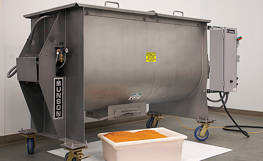 Ribbon Blender Produces Consistent Results For Seasoning