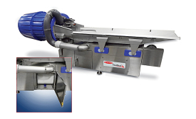 Seasoning application conveyor
