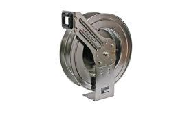 Stainless steel hose reels