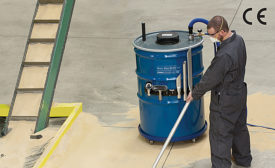 Heavy-duty HEPA vacuum