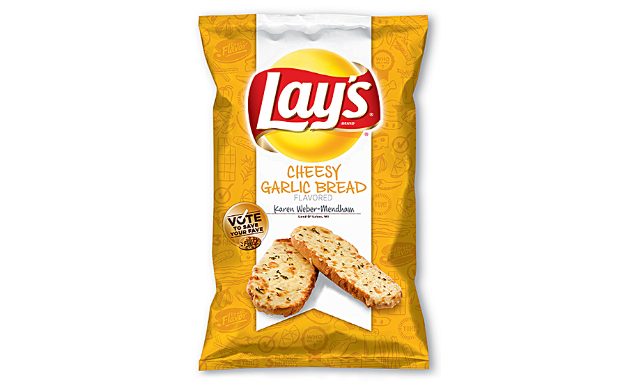 PepsiCo Lays Cheesy Garlic Bread Bag