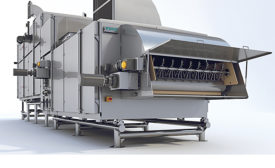 Cereal products dryer