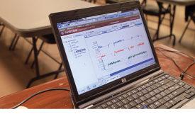Operator using FactoryTalk software