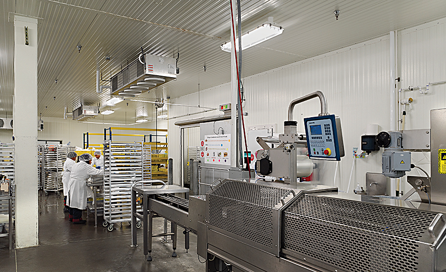 Newly-converted USDA-certified food production facility