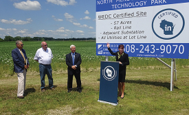 Wisconsin Lt. Governor announces certified sites