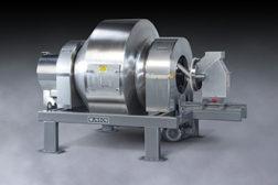 Rotary batch mixer