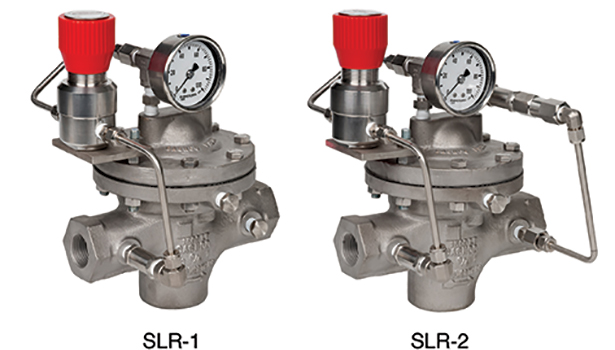 Self-loading regulator valve