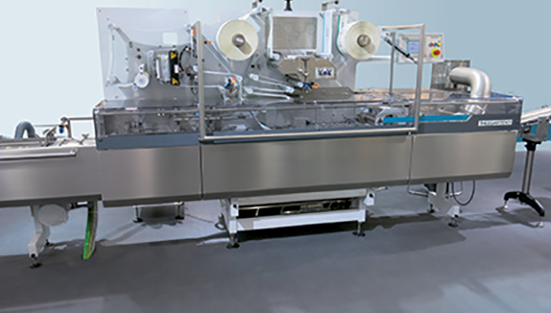 Flow-pack wrapping machine