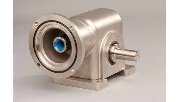 Cone Drive's new stainless steel worm reducers