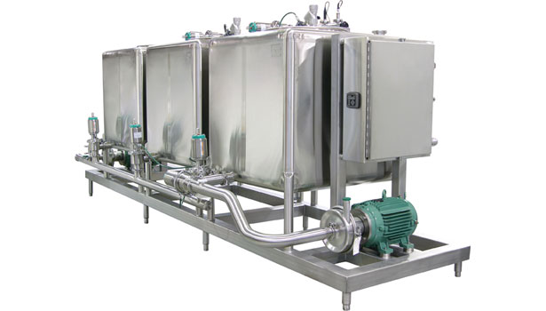 CSI Designs three-tank single-supply CIP system