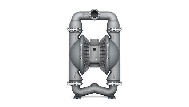 Sanitary double-diaphragm pump