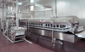 Heat and Control fryer with external support module