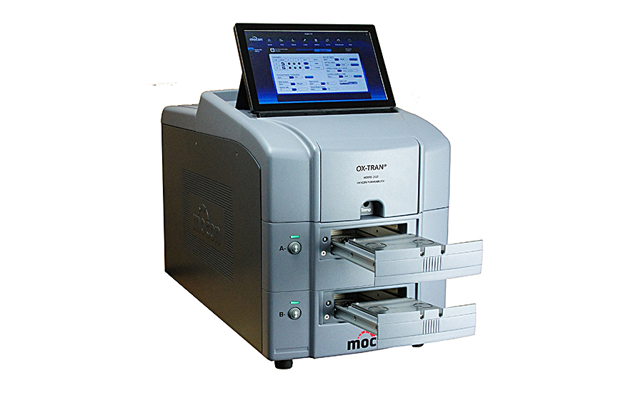 Oxygen permeation analyzer