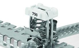 Shield clamping saddles