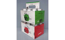 beer carrier with retractable handle