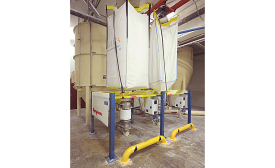 Flexicon twin bulk bag dischargers