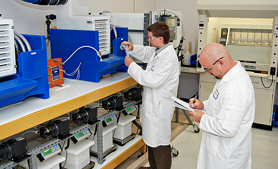 U.S. Water Services R&D scientists