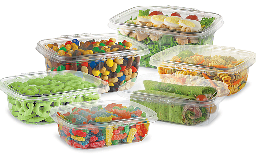 Tamper-evident food containers
