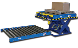 Conveyor-equipped units