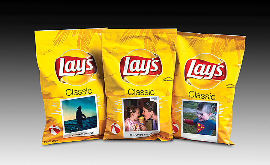 Lays Summer Promo packaging