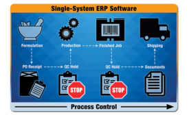 Single-system ERP software