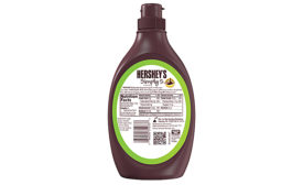 Hershey's chocolate syrup label