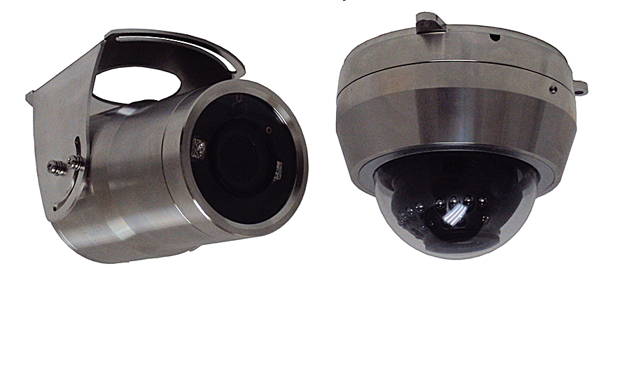 stainless steel video cameras