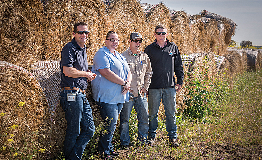 Musco Family Olive Company's sustainability team