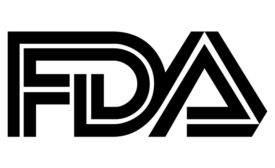 black&white FDA logo