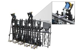 material mixing system