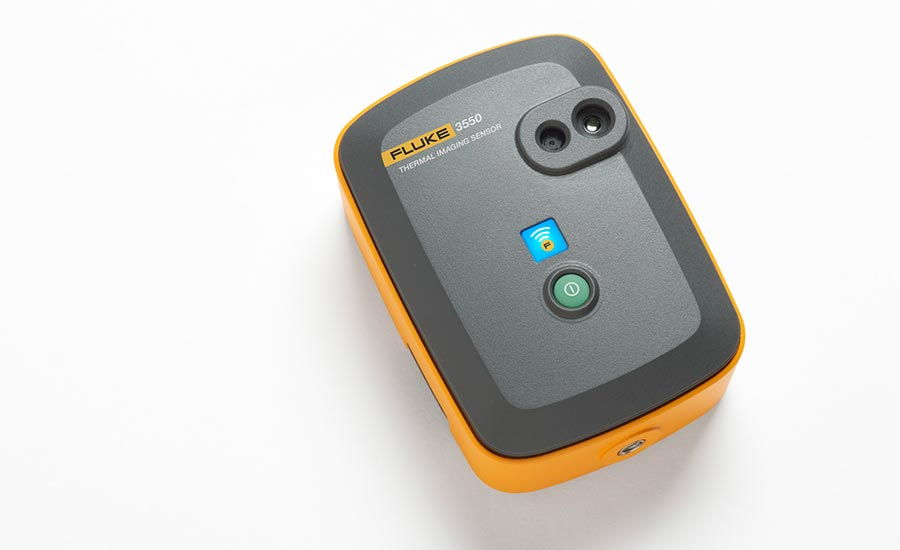 Fluke's Model 3550 FC thermal imaging sensor