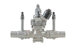 refrigeration valve station