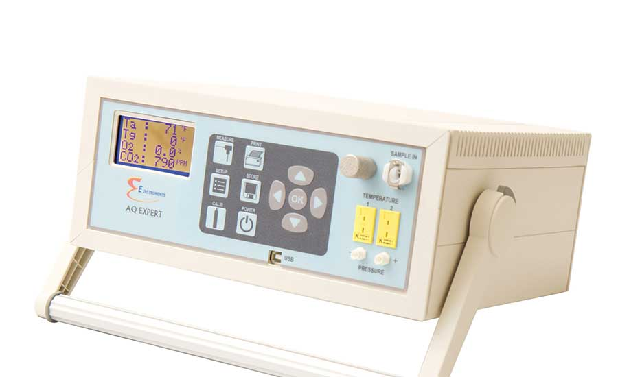 E Instruments AQ Expert air quality monitor