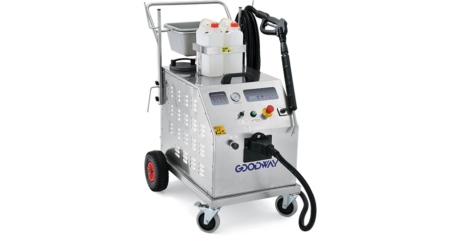 Goodway dry steam sanitation