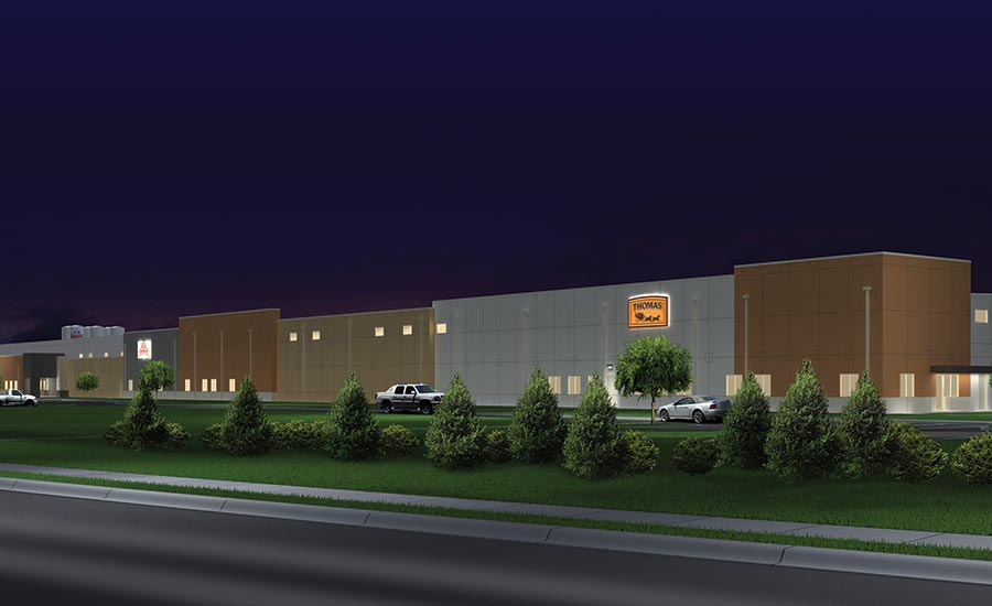 rendering of Bimbo Bakery LEED facility