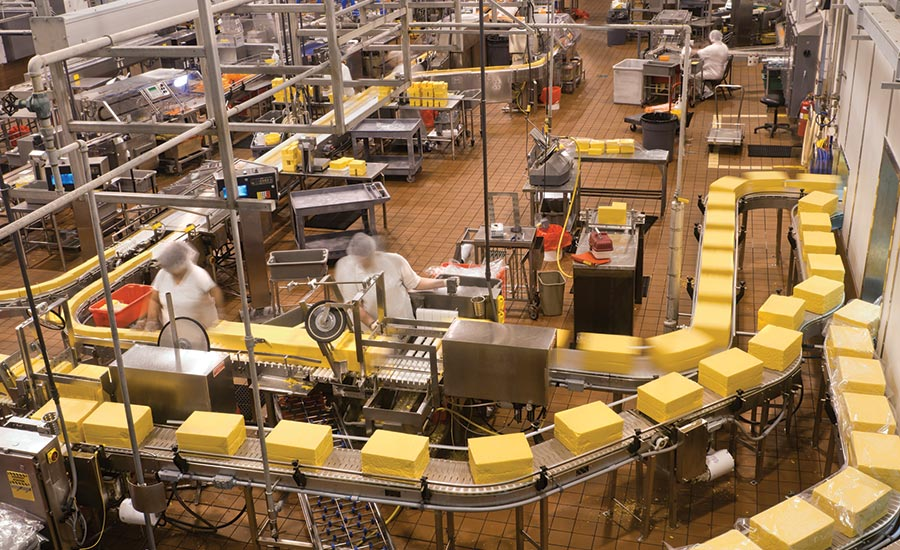 operations on food and beverage plant floor