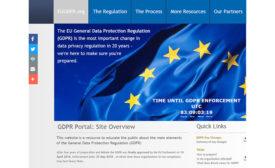 EU GDPR portal