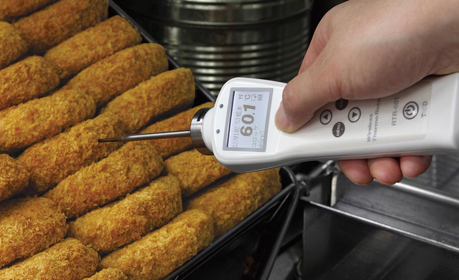 RTR 601 Food Core temperature data logger