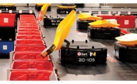material handling sortation system