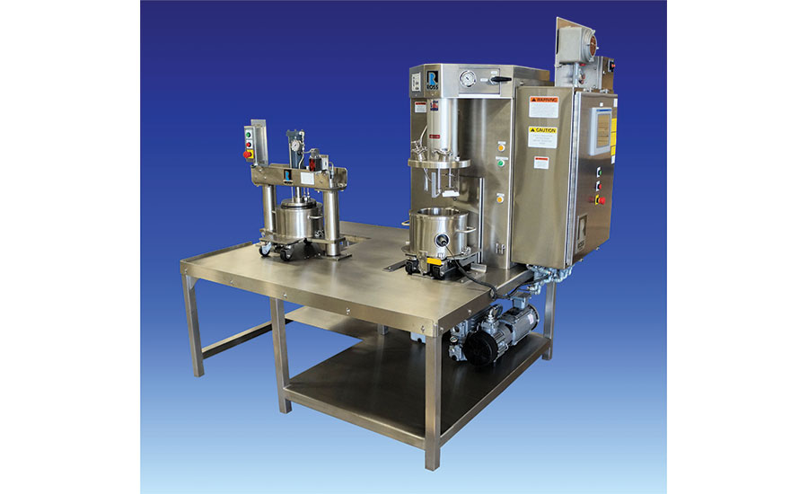 triple-shaft mixer