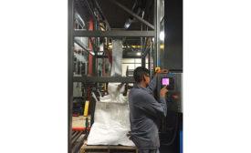 bulk bag filling system
