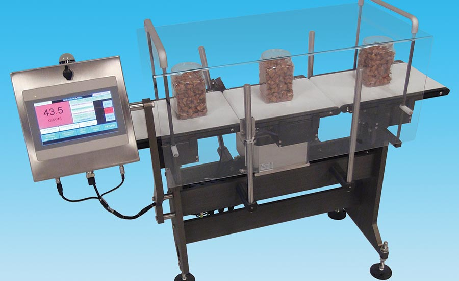 PLC-based checkweigher