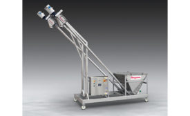 flexible screw conveyor system