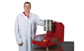 lab-sized powder blending system