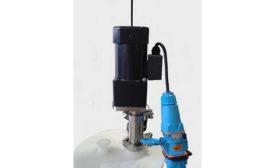 tri-clamp sanitary mixer